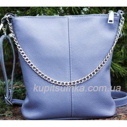 Женская сумка из натуравльной кожи 41BP-1 Сиреневый