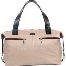 Кожаная сумка женская бежевая BP43-129