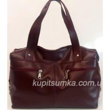 Женская сумка из натуральной кожи Бордовый