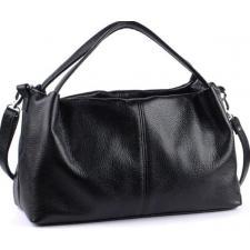 Кожаная женская сумка BP16-1 Черный