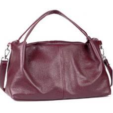 Женская кожаная сумка BP16-4 Бордовый