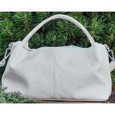 Женская сумка из натуральной кожи BP16-3 Белый