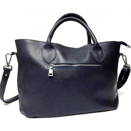 Женская кожаная сумка Elegant PB23-5 Синий