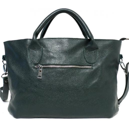 Кожаная женская сумка PB26-6-3 Зеленый