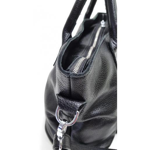 Кожаная женская сумка PB26-2 Черный