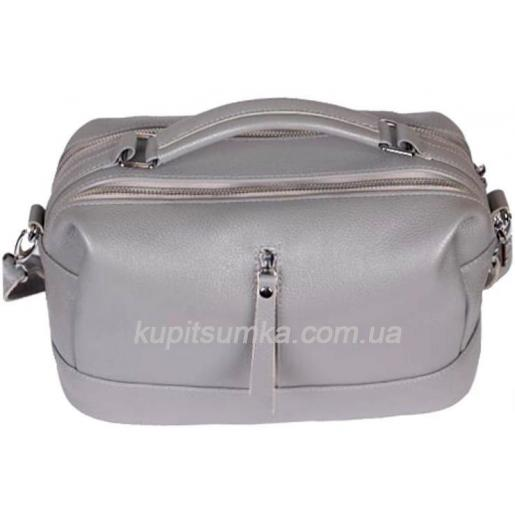 Женская сумка из натуральной кожи BP-44М-2 Серый