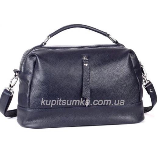 Женская сумка из натуральной кожи BP44-4 Синий