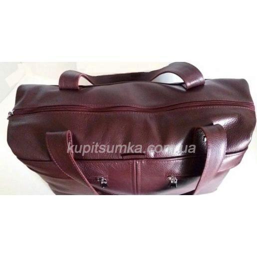 Женская сумка кожаная BP43-98 Бордовый