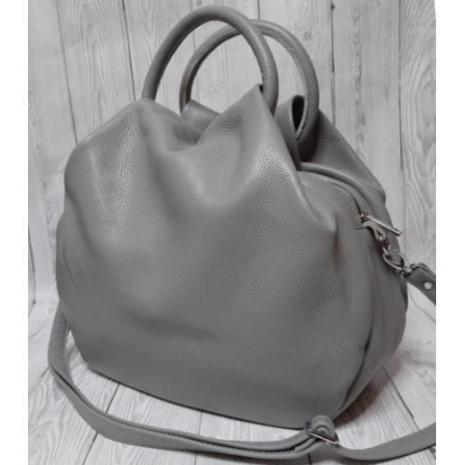 Женская сумка из натуральной кожи 31PB-6 Серый