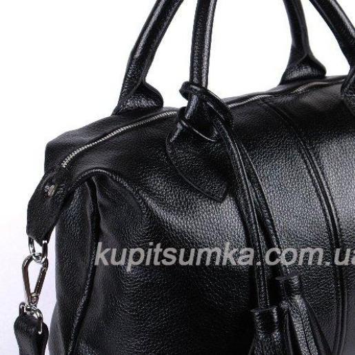 Женская сумка из натуральной кожи BP20-8 Черный
