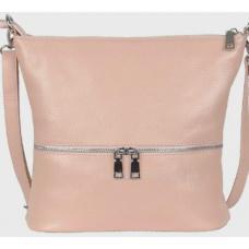 Женская сумка из натуральной бежевой кожи 42BP-67