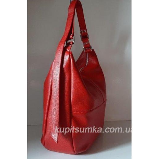 Женская сумка кожаная PB14-9 Вишневый