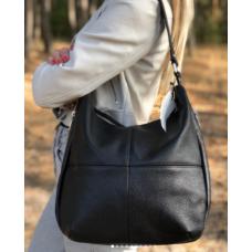 Женская кожаная сумка через плечо PB14-1 Черный