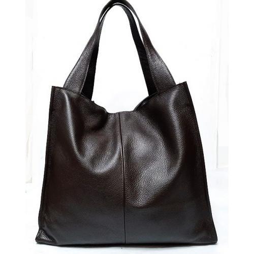 Женская сумка из натуральной кожи 12-8PB Коричневый