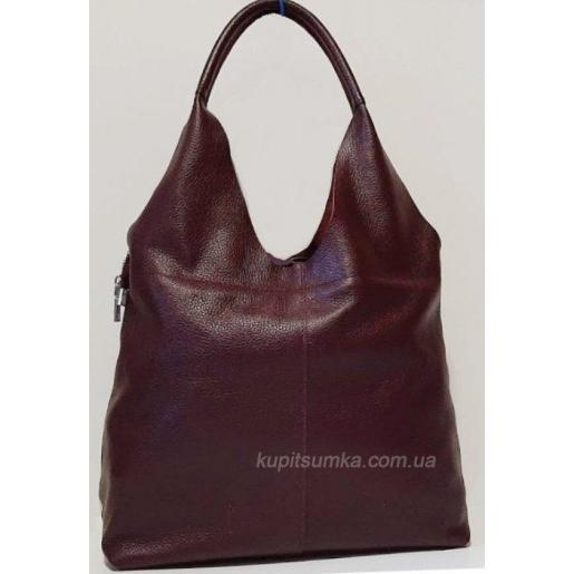 Женская сумка из натуральной кожи 48PB-1 Марсала