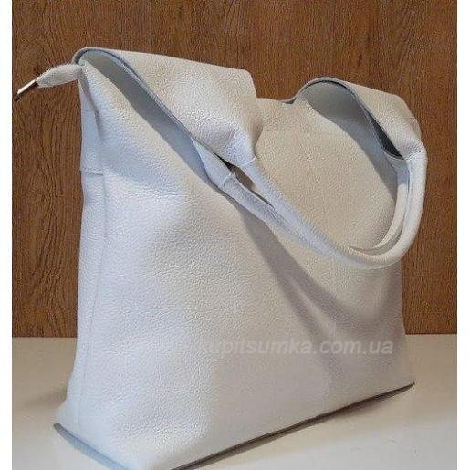 Женская кожаная сумка 48PB-2 Белый