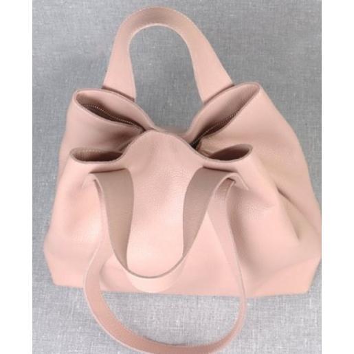 Женская кожаная сумка VP56-2 pink