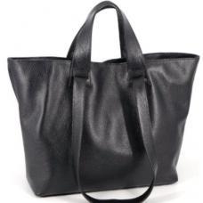 Кожаная женская сумка VP56-3 black