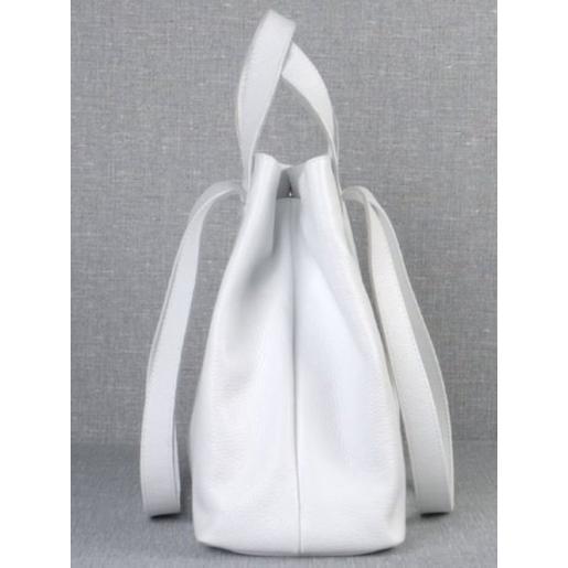 Женская кожаная сумка VP56-1 white