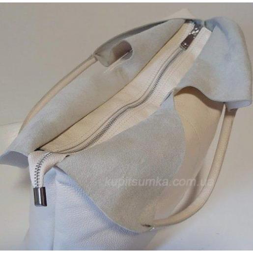 Женская сумка из натуральной кожи PB48-5 Бежевый