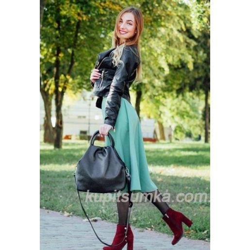 Женская кожаная сумка 31PB-11 Коричневый