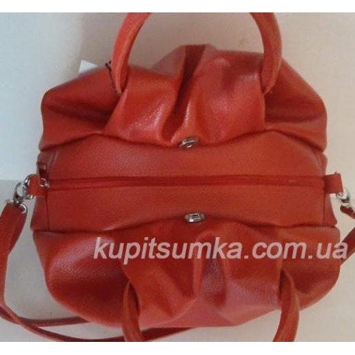 Женская кожаная сумка 31PB-2 Вишневый