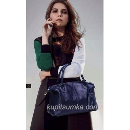 Женская сумка из натуральной кожи 20PB1 Розовый
