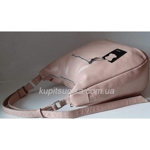 Женская кожаная сумка 14PB-7 Розовый