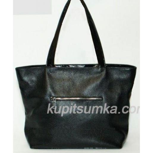 Женская сумка из натуральной кожи BP7-1Черный