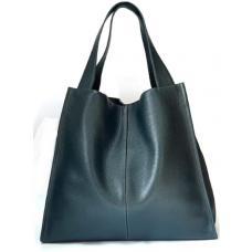 Женская кожаная сумка Casual 12-2PB Зеленый