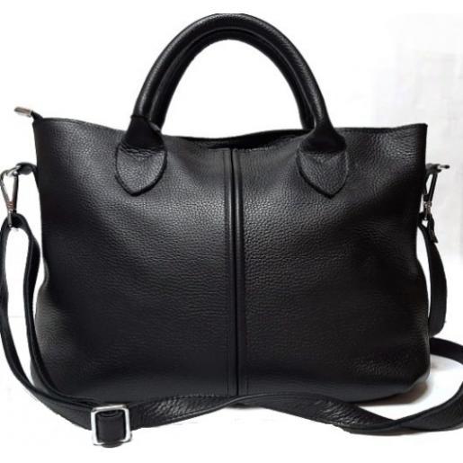 Женская сумка из кожи Elegant 23PB1 Черный