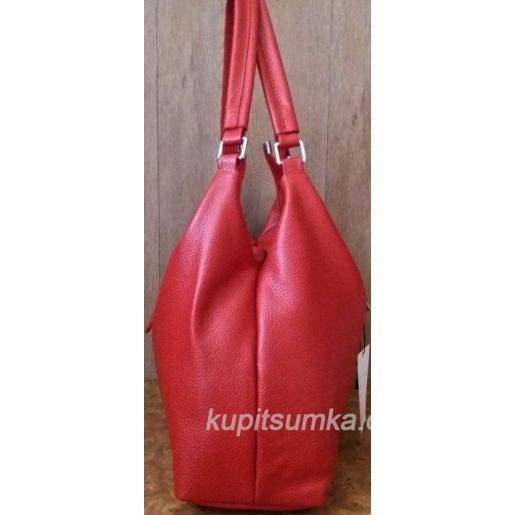 Женская кожаная сумка PV39-2 Красный
