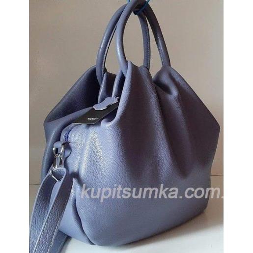 Женская кожаная сумка 31PB-10 Сиреневый
