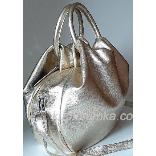 Женская кожаная сумка 31PB-5 Golden