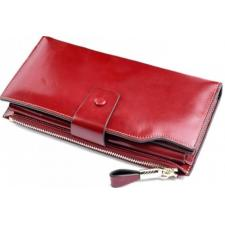 Женский кожаный кошелек 3302D-1 Красный