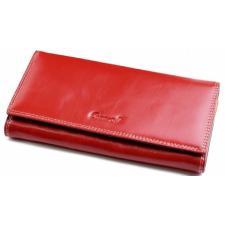 Женский кожаный кошелек DO91-12 Красный