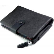Женское портмоне из кожи 6-99D28 Серый
