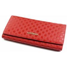 Женский кожаный кошелек COSSROLL 1-91D12 Красный