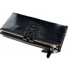 Кожаный женский кошелек 33D81-1 Черный
