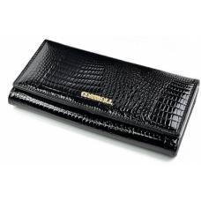 Кошелек женский кожаный черный OD140D71-9111-2