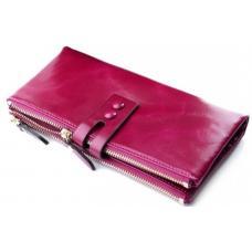Женский кошелек из натуральной кожи 33D81 Розовый