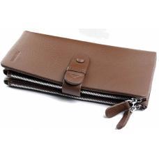 Женский кожаный кошелек DO17-15 Коричневый