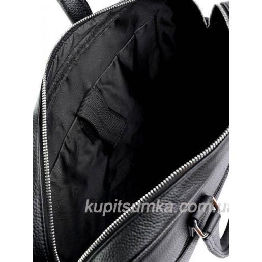 Классическая мужская сумка из натуральной кожи