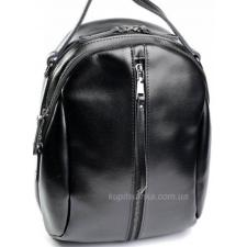 Женский рюкзак из натуральной кожи DO8950-2R Black