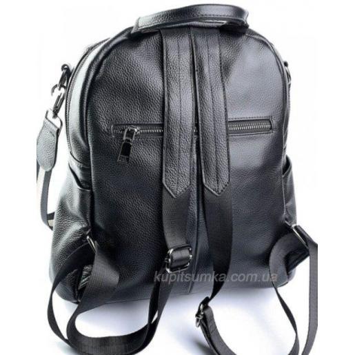 Женский рюкзак из кожи Olivia Leather 610D-1 черный