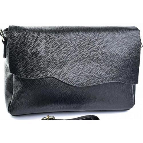 Женская кожаная сумка 50DO1-3 Черный