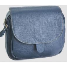 Клатч женский кожаный 03D20-2 Синий