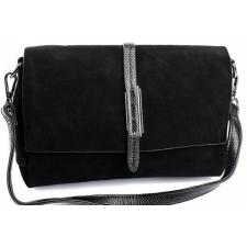 Женская замшевая сумка черная DO793-90-3
