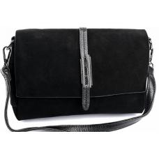 Женская замшевая сумка DO793/90-3 Черный