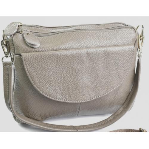 Женская сумочка из кожи K11D95-3 Бежевый
